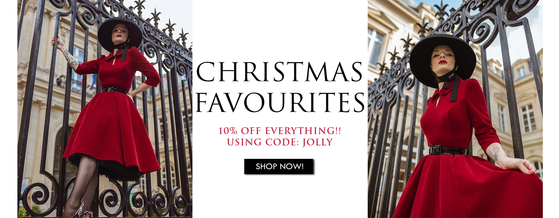 Christmas Favourites with 10% discount code