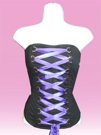 Purple Lase Corset
