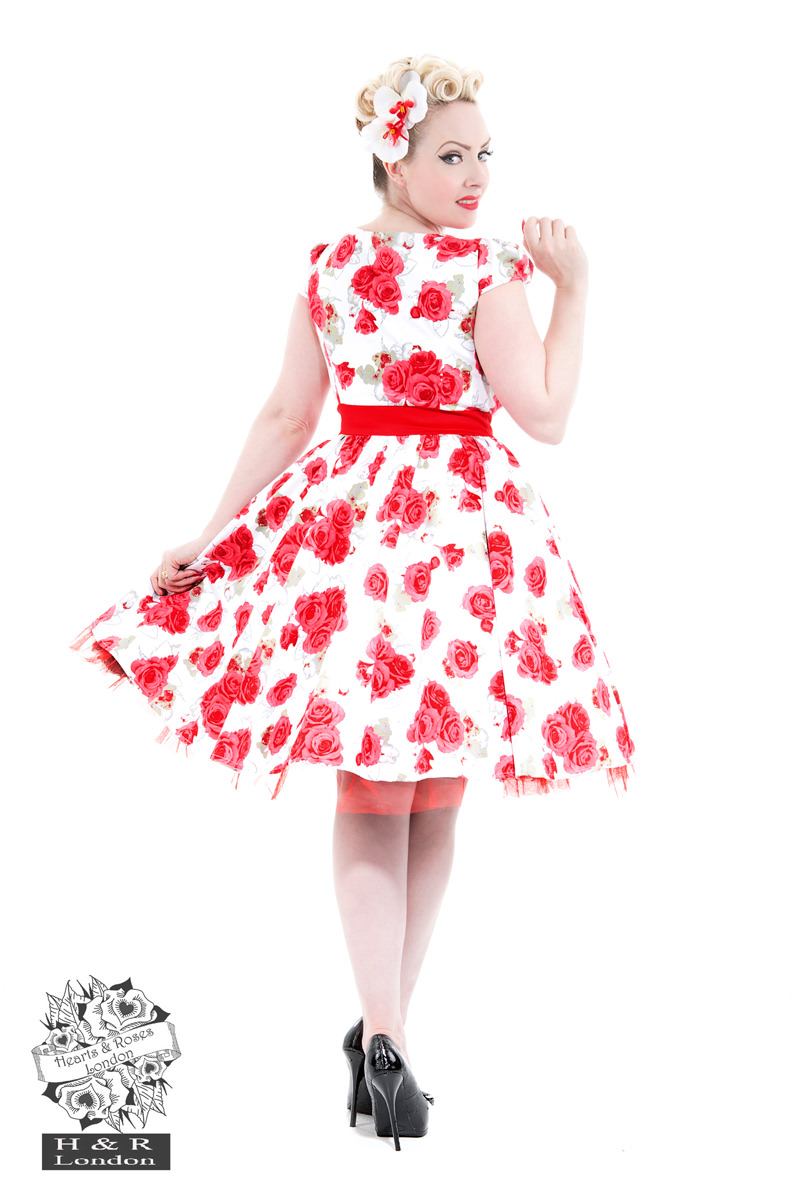 Bianca Roses Day Dress