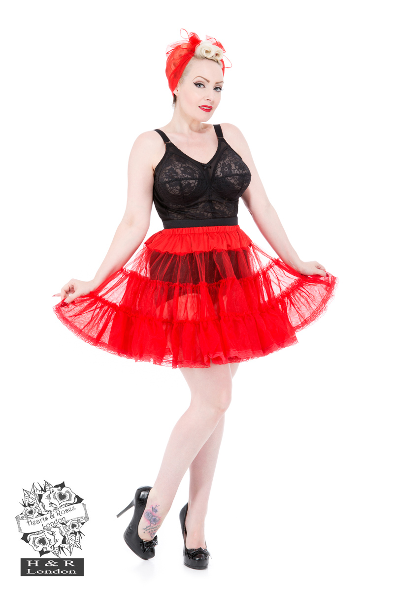 Red 20'' Petticoat