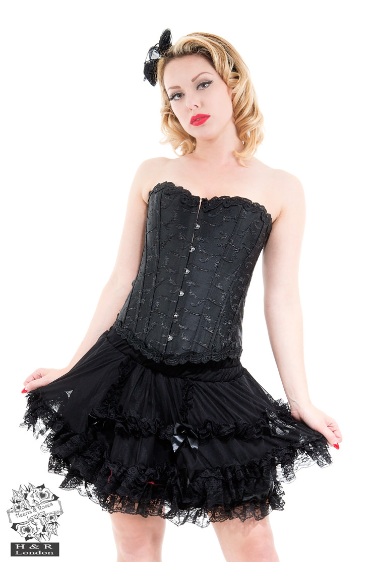 Amoureux Embroidery Corset