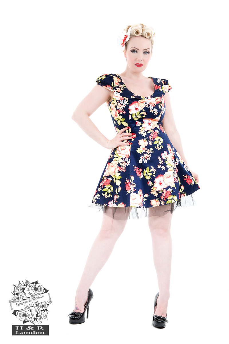 Jennifer Floral Mini Day Dress
