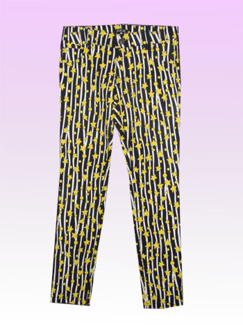 Cassie Yellow  Stripe Trouser
