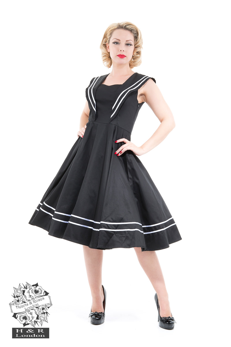 Black Sailor Dress
