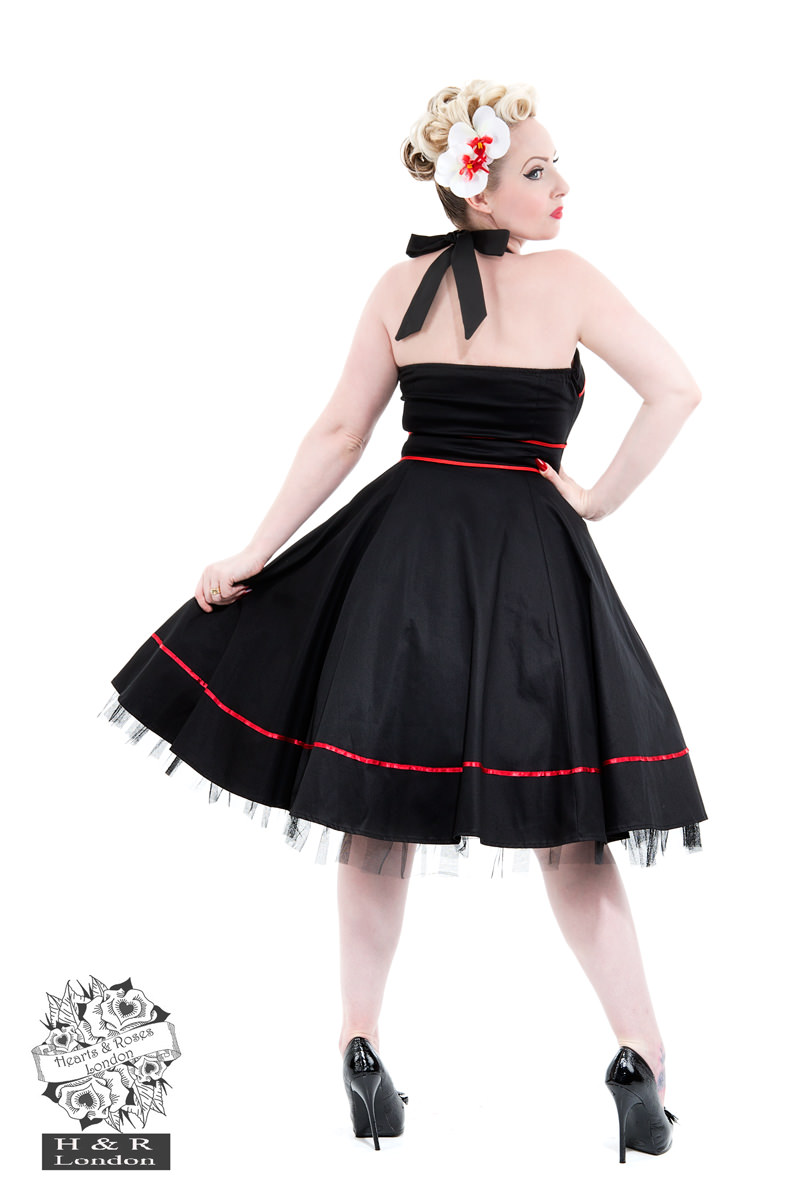 Black Sailors Moon Halterneck Dress