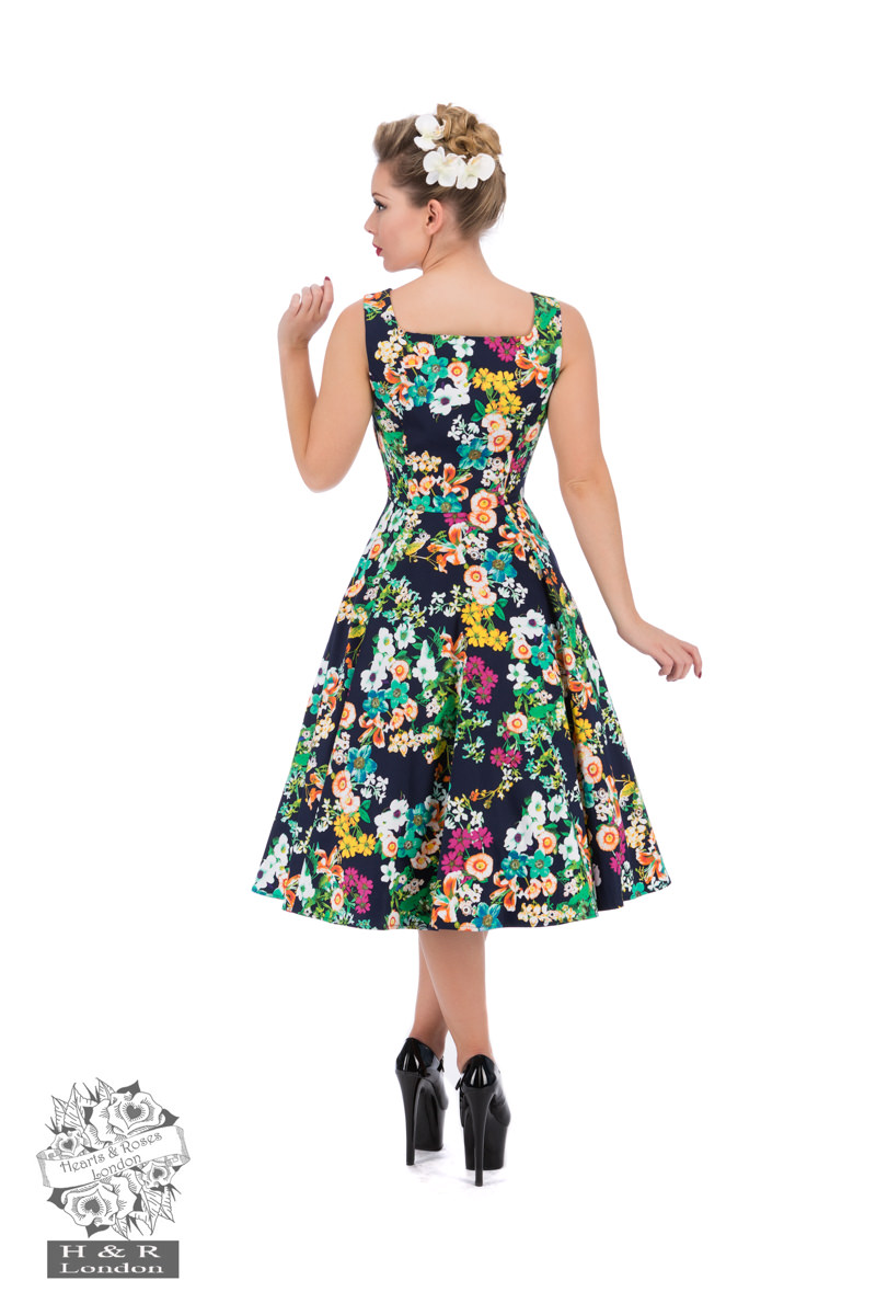 Eternal Floral Day Dress