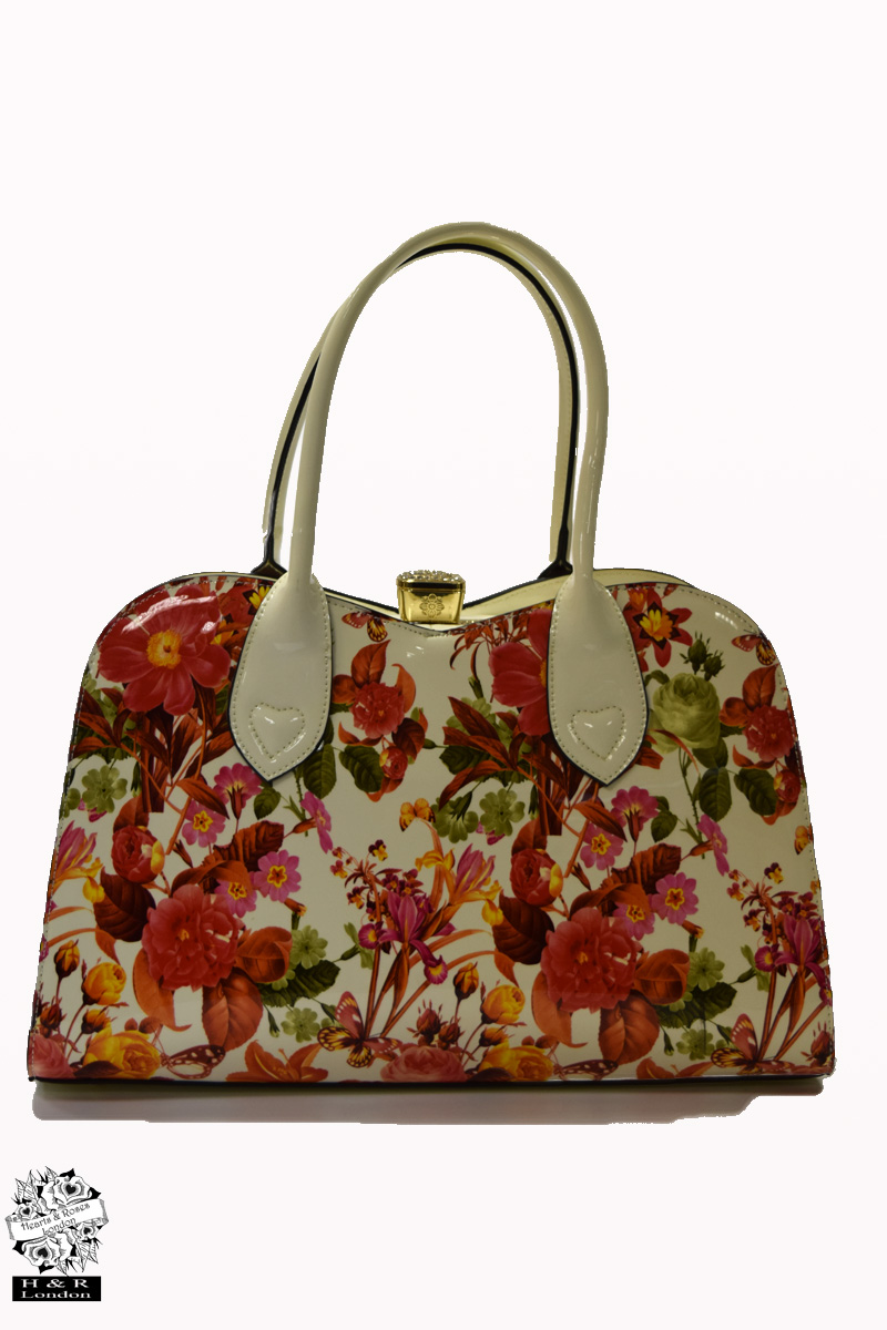 Echeveria Floral Tote Bag