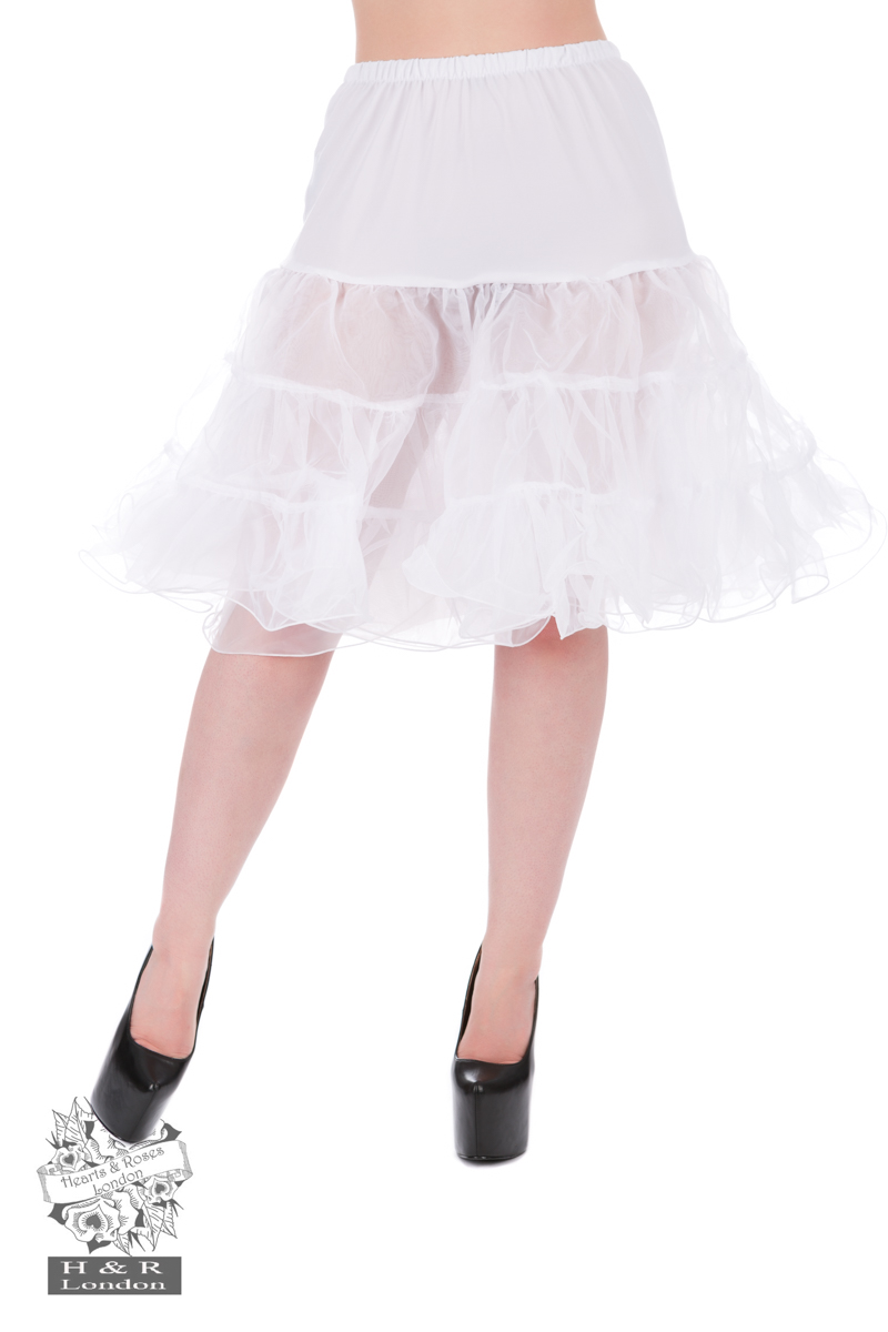 Petticoat In White