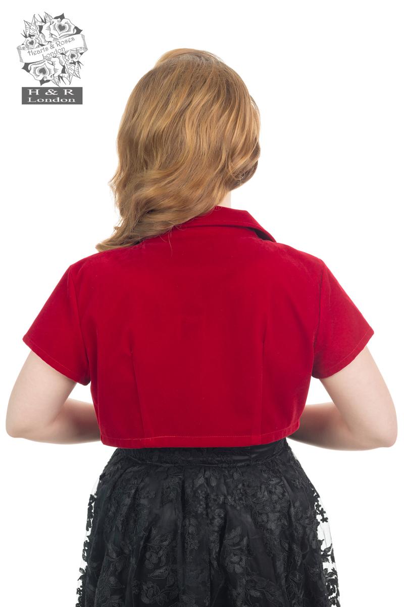 Red Velvet Bolero