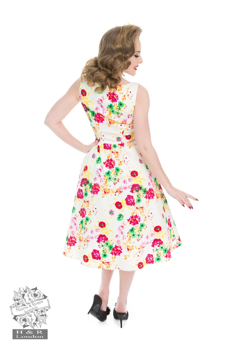 Enchanting Summer Floral Dress