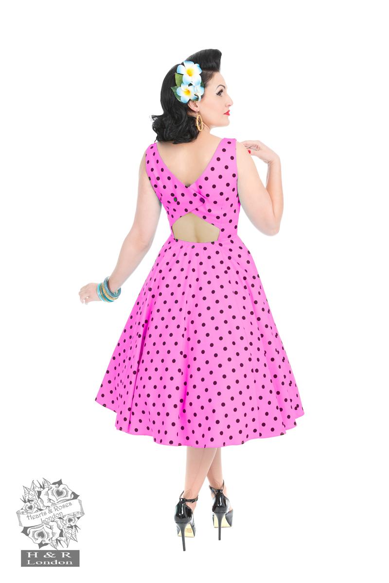 Rhiannon Swing Dress In Raspberry