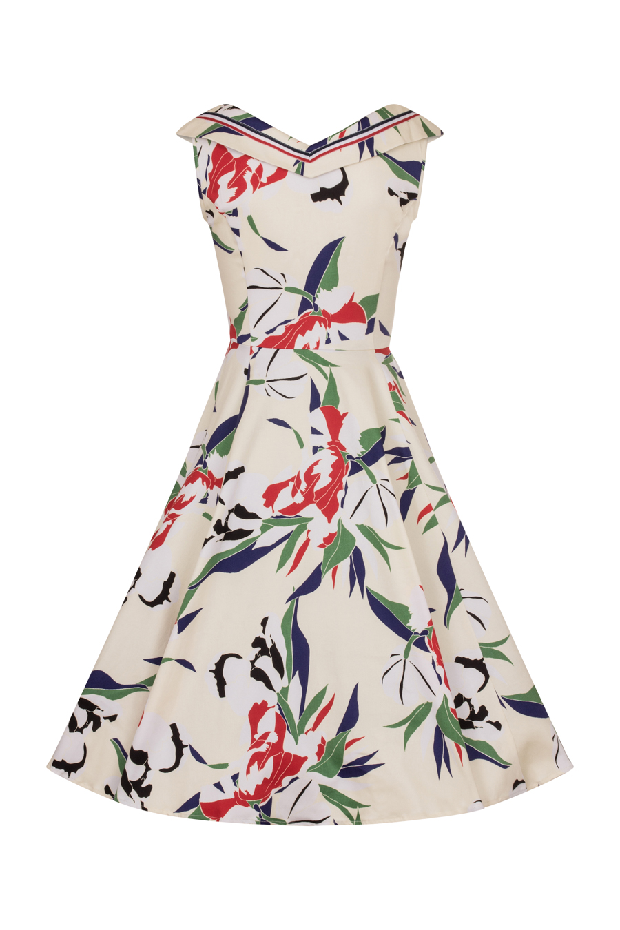 Heaps of Leaves Sailor Dress