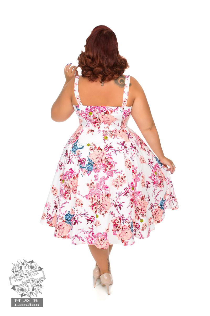 Heavenly Vintage Swing Dress