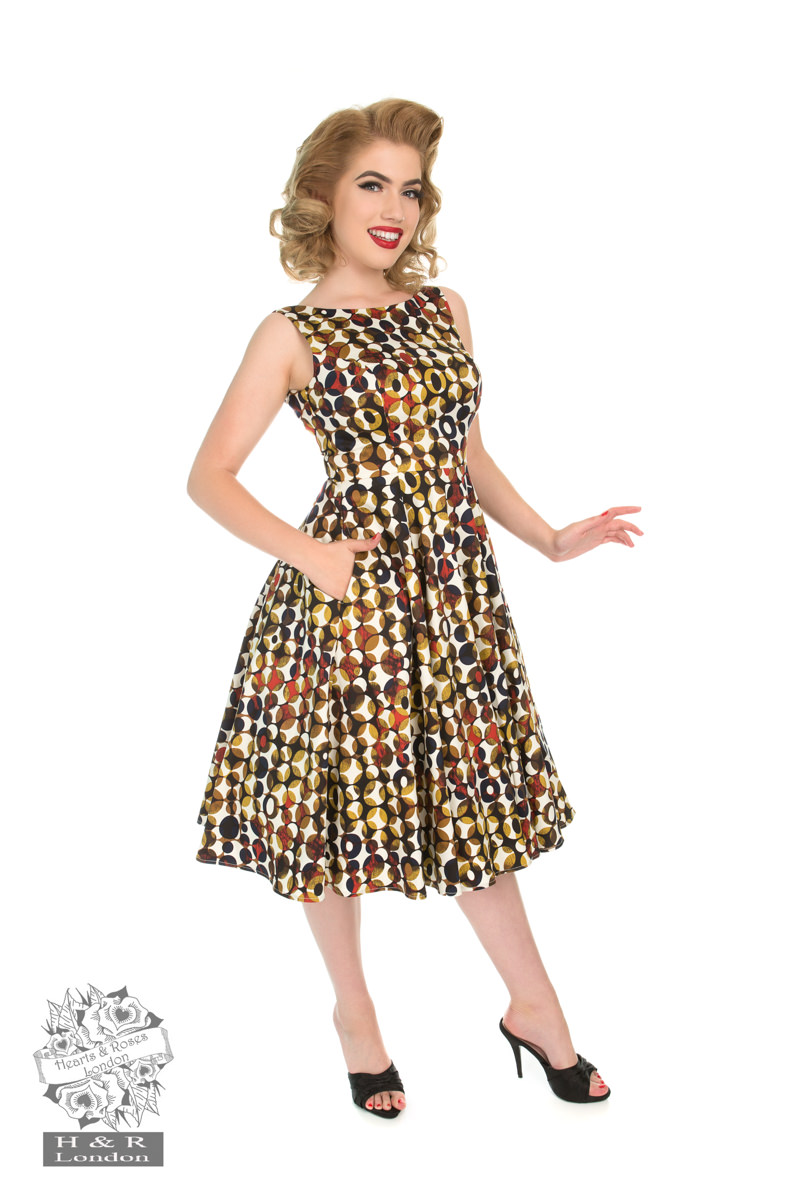 Audrey's Infinity Polka Dot Dress