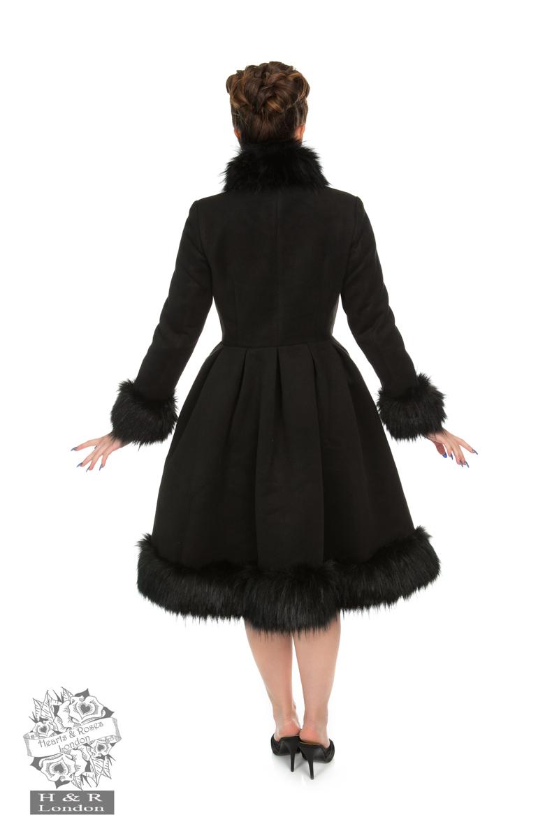 Elsie Coat in Black