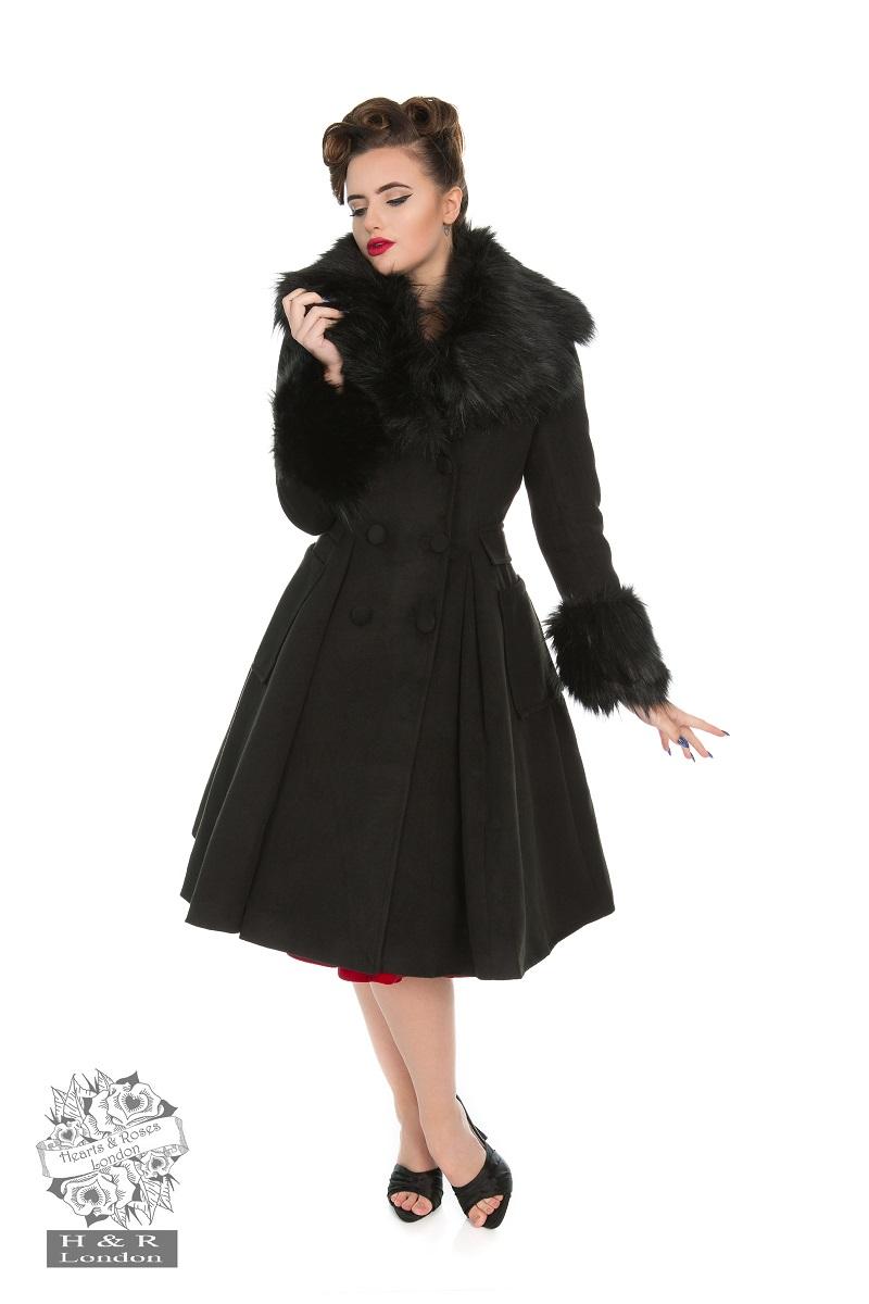 Fiona Coat In Black