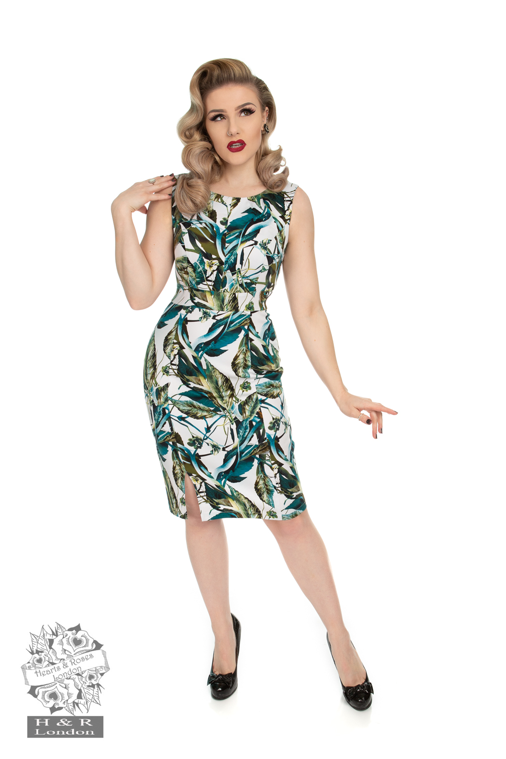Felicity Floral Wiggle Dress