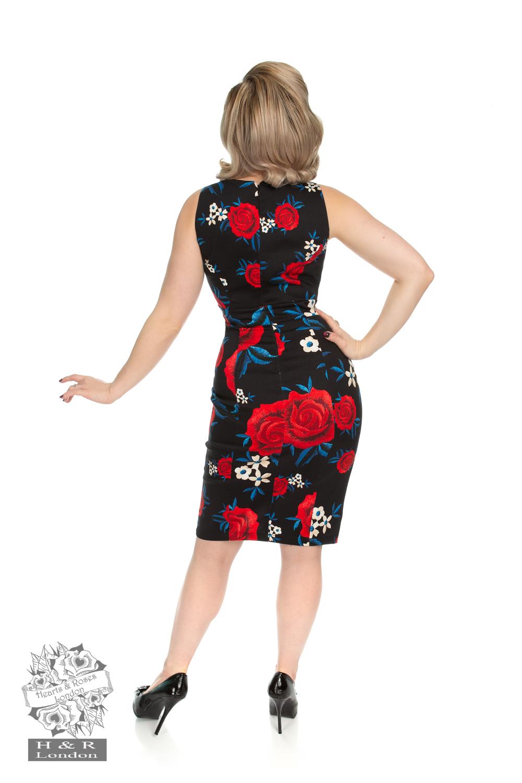 Sylvia Floral Wiggle Dress