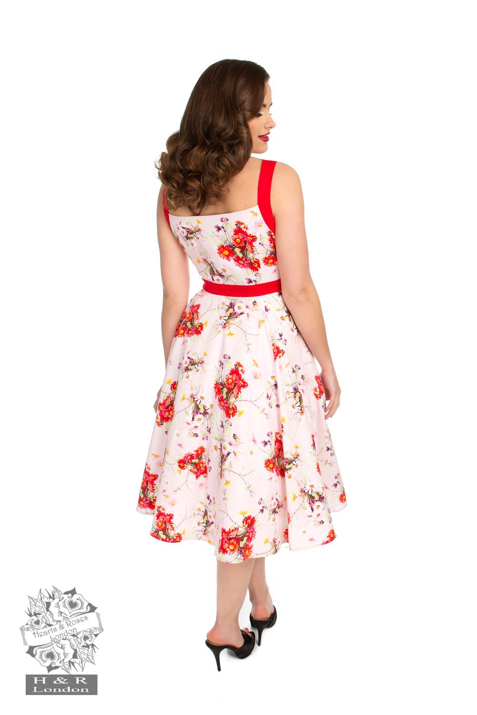 Deborah Floral Swing Dress