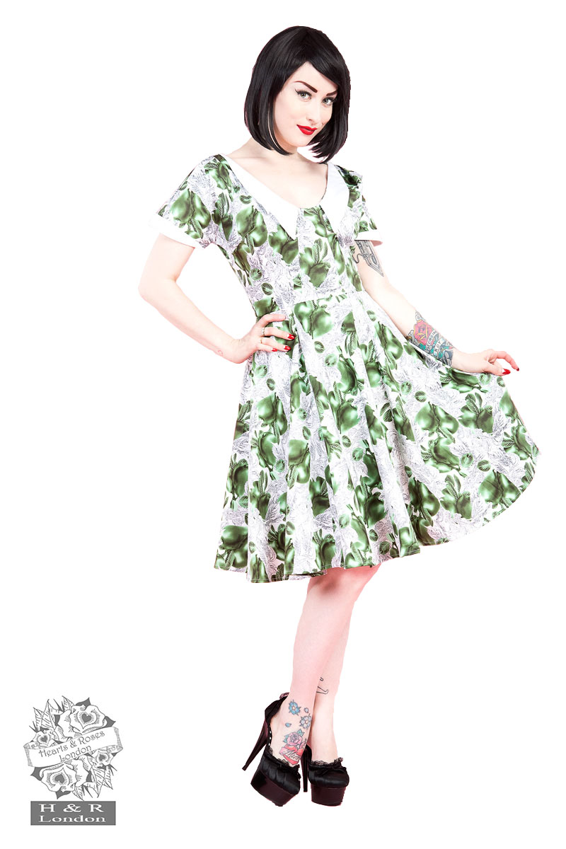 Green Pear Isabella Dress