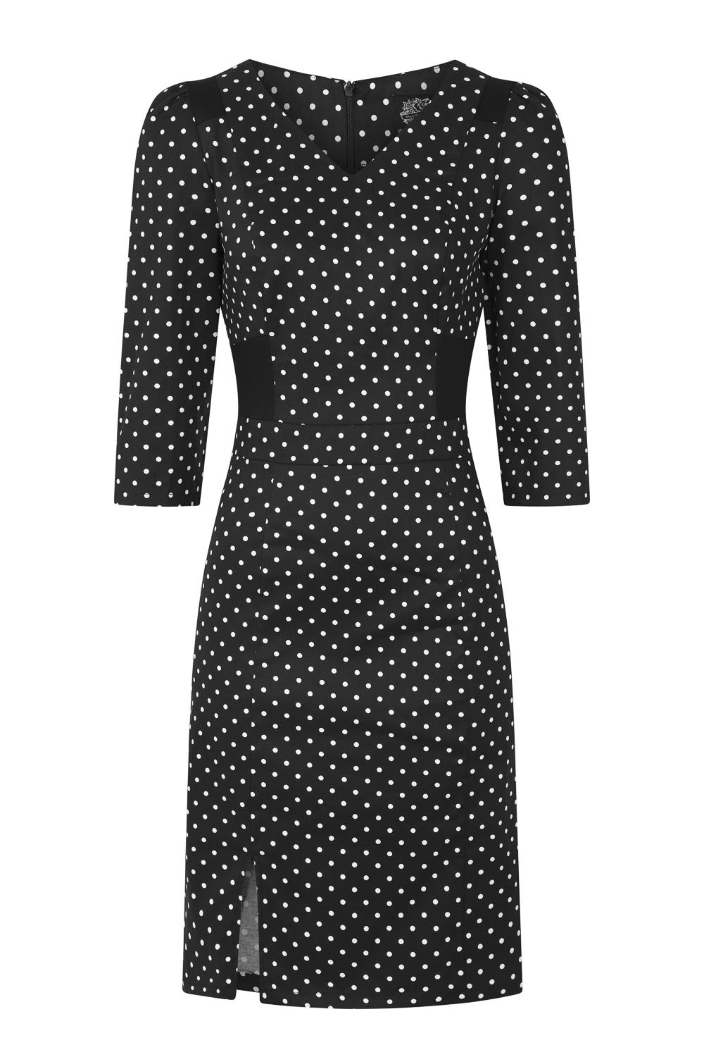 Cecelia Polka Dot Wiggle Dress