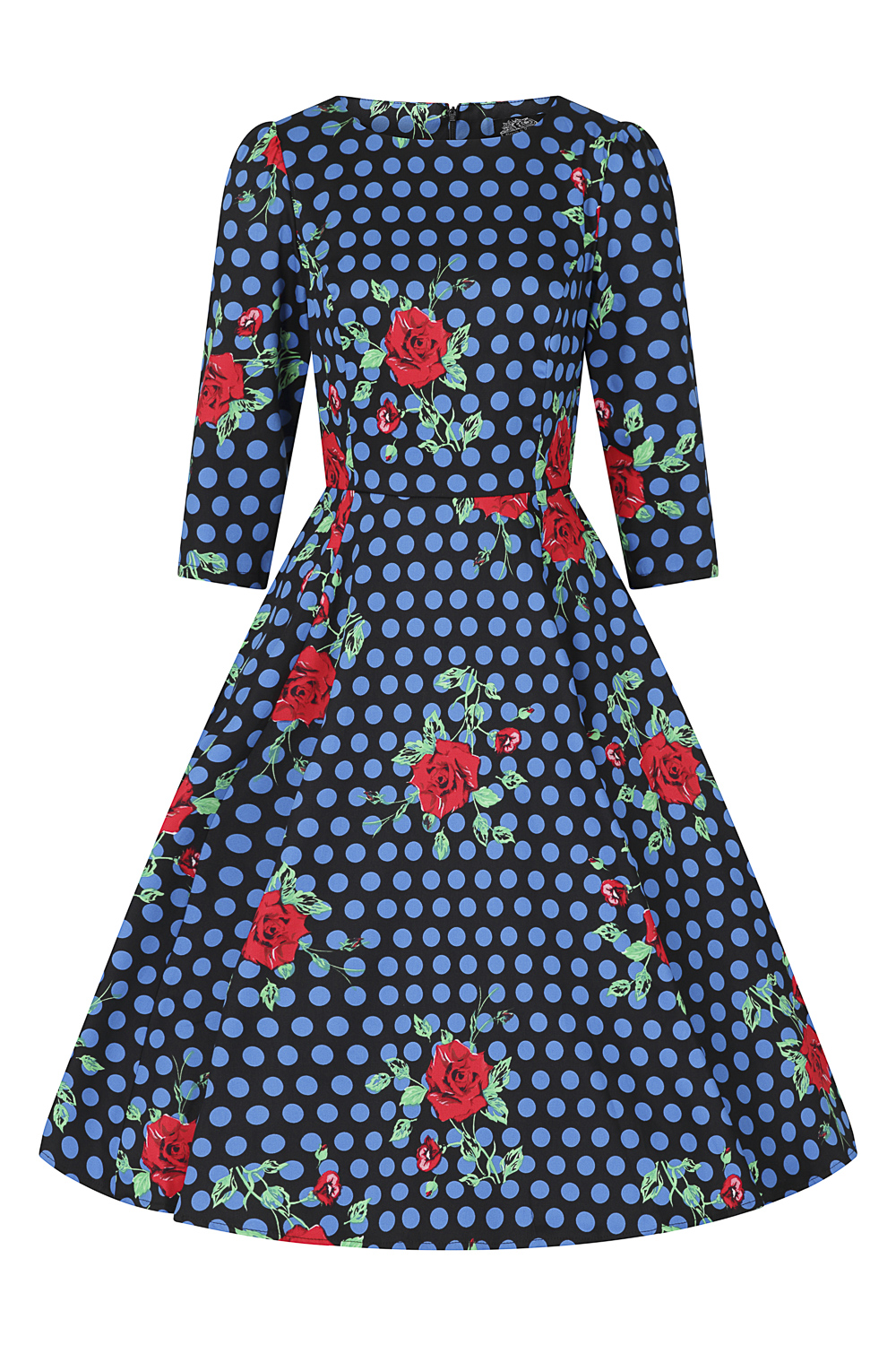 Olivia Rose Polka Dot Swing Dress