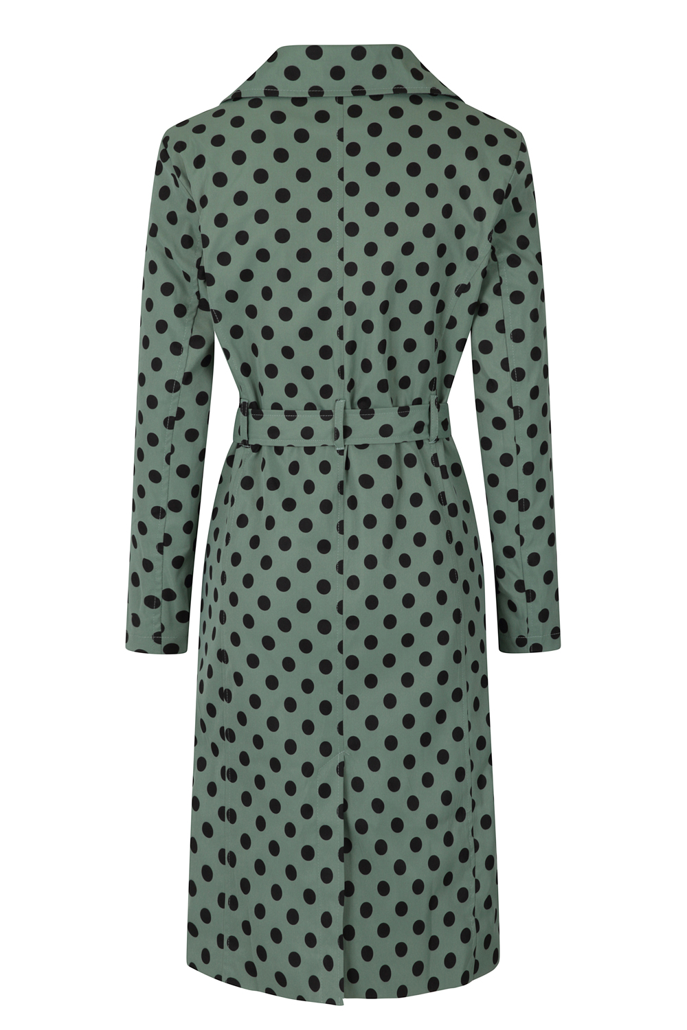 Nancy Trench Coat in Green