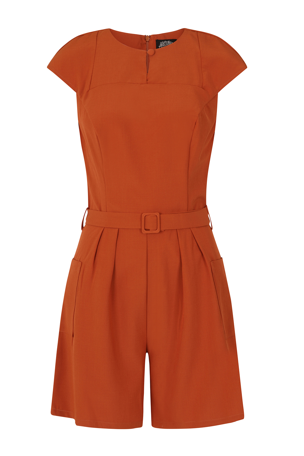 Betty Brown Playsuit