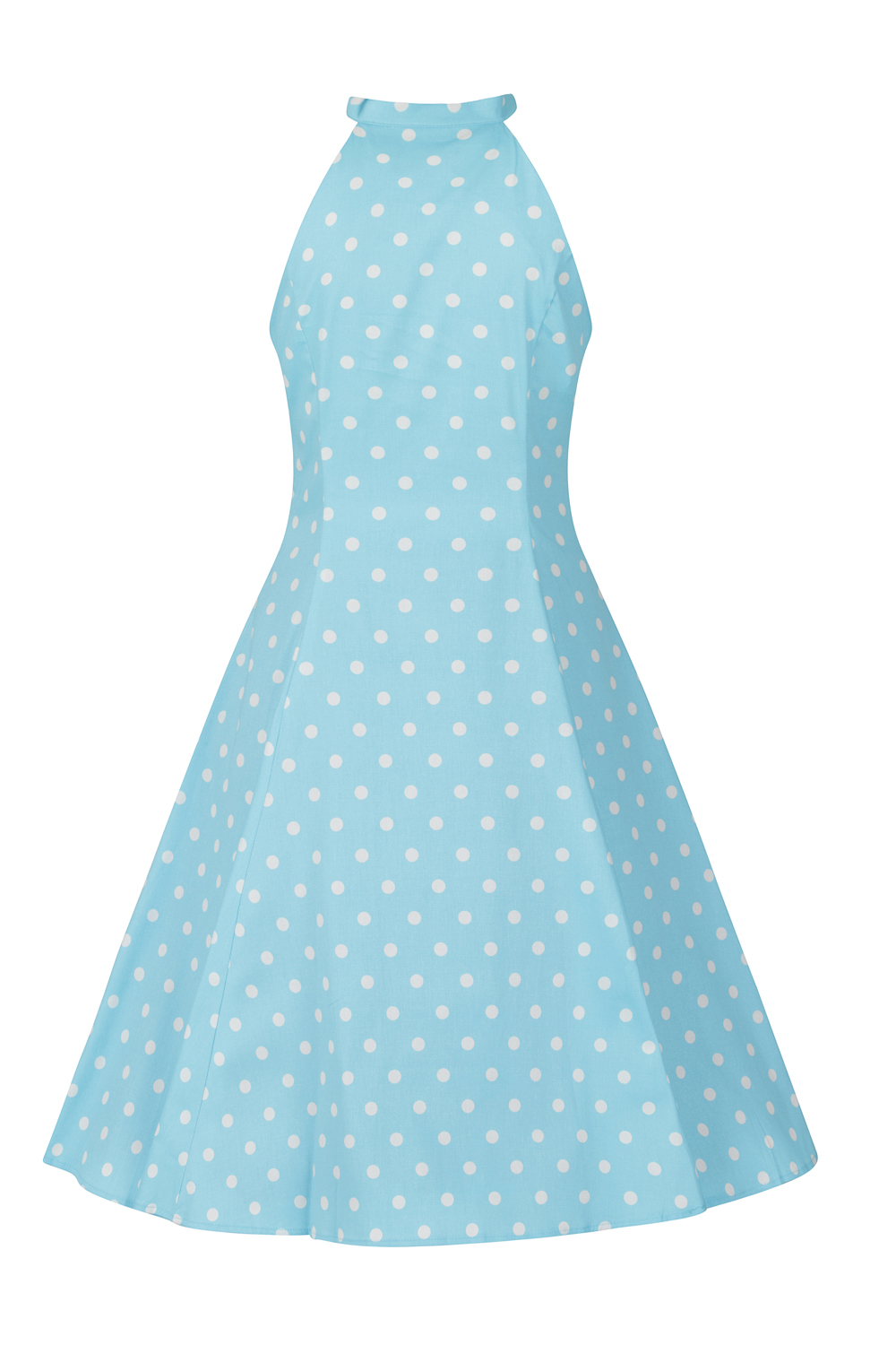 Dotty Polka Dot Swing Dress
