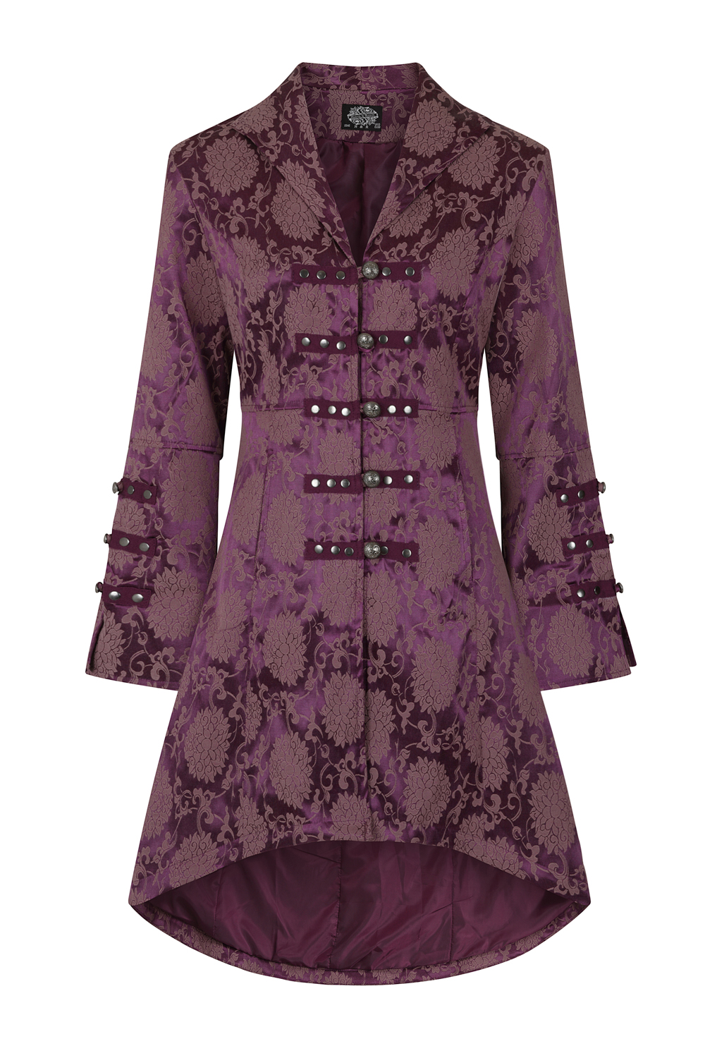 Purple Andromeda Rave Coat