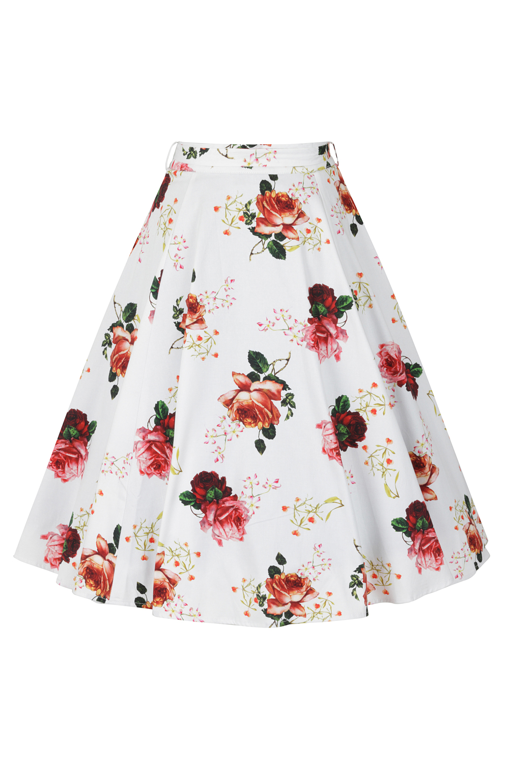 Florence Floral Swing Skirt