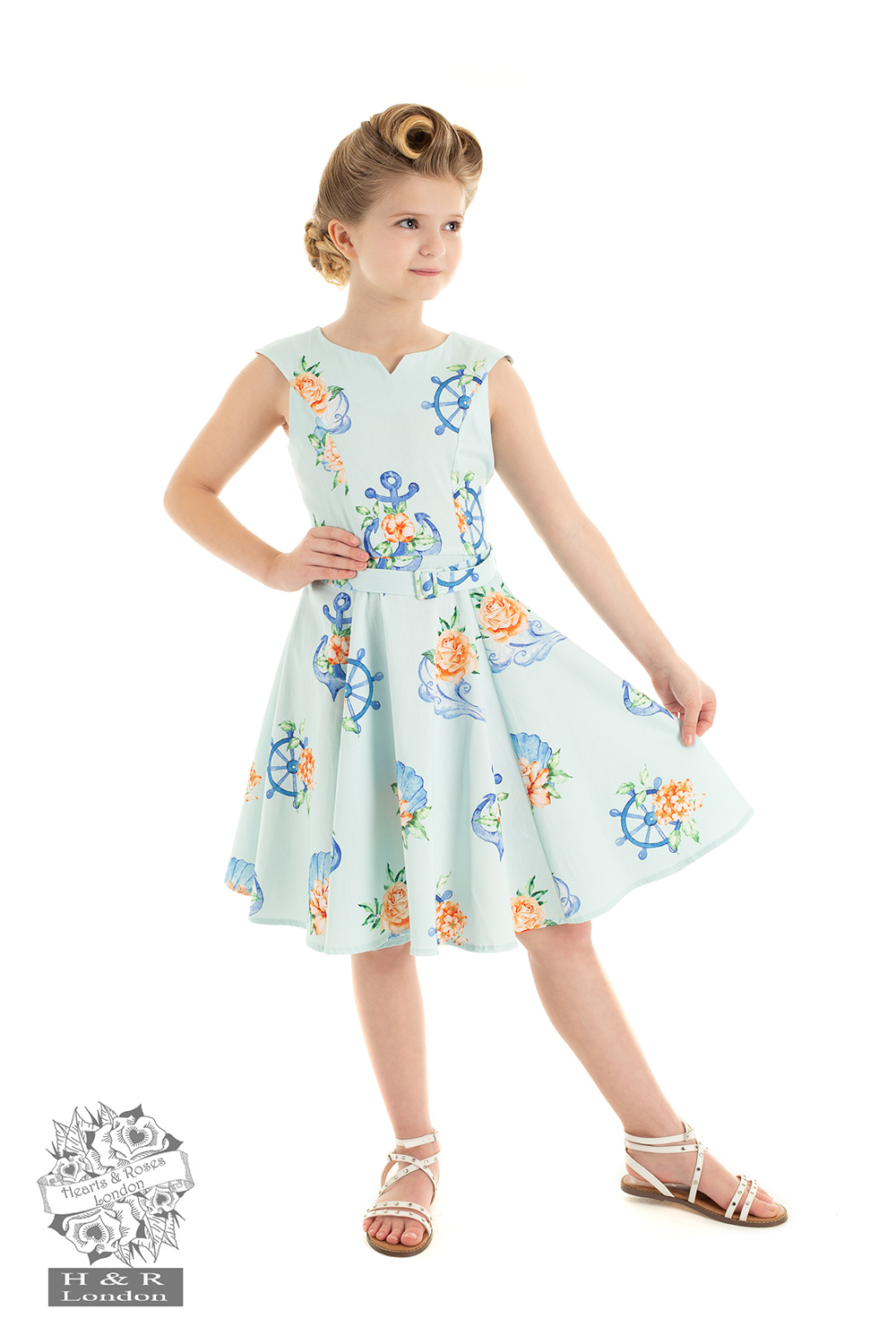 Girls Petra Floral Dress