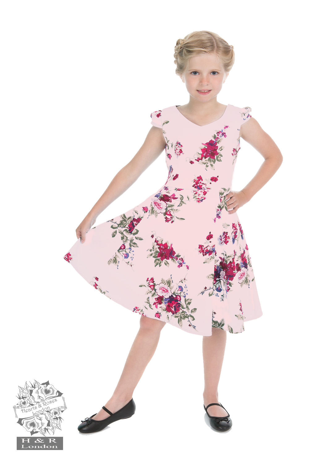 Girls Royal Ballet Tea Dress in Pink