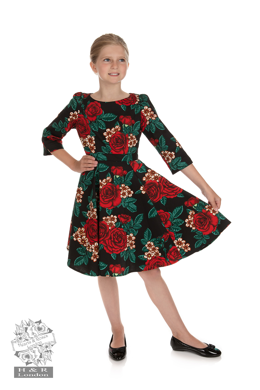 Girls Anne-Marie Swing Dress