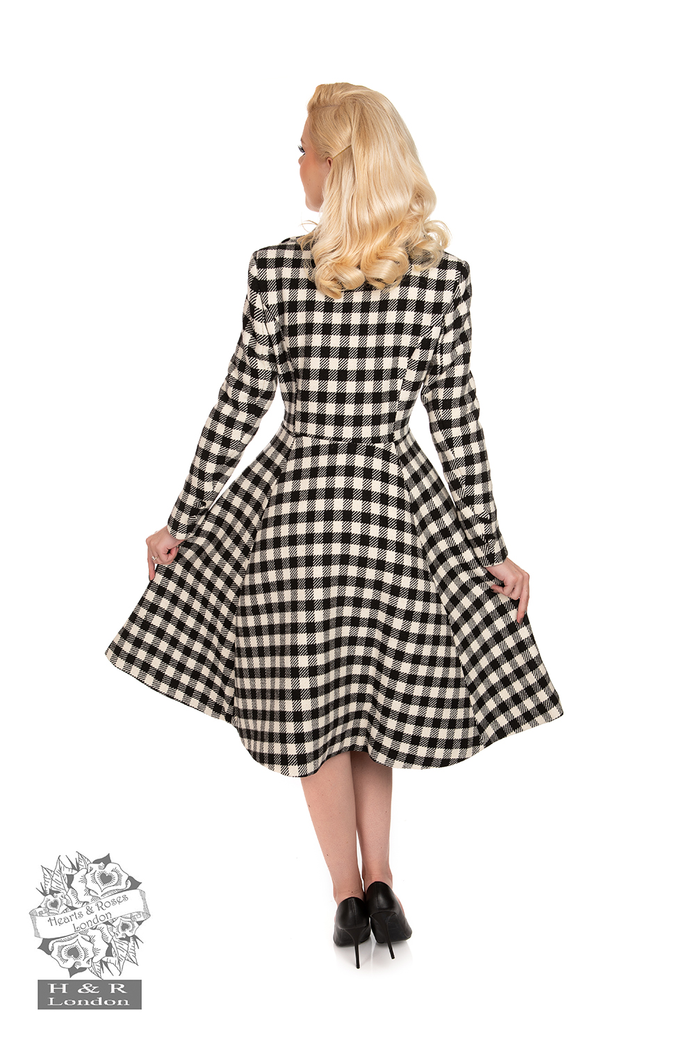 Heather Swing Coat