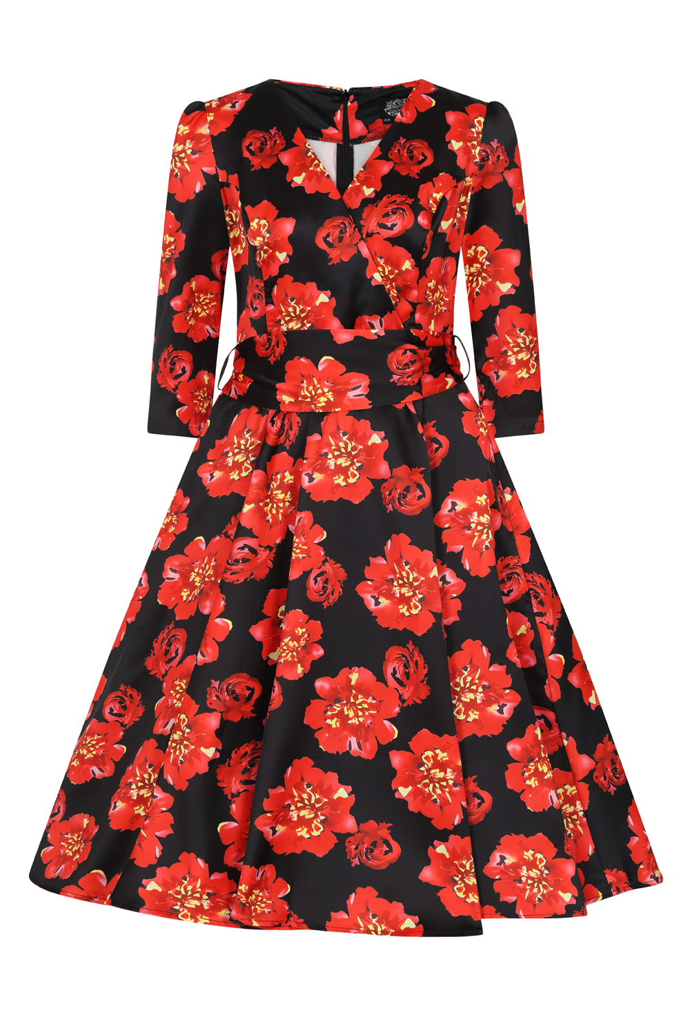Julia Floral Swing Dress