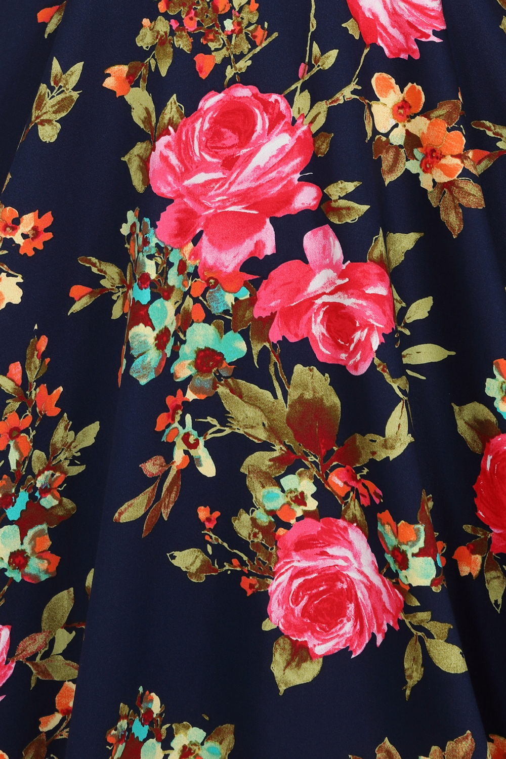 Hailey Floral Swing Dress