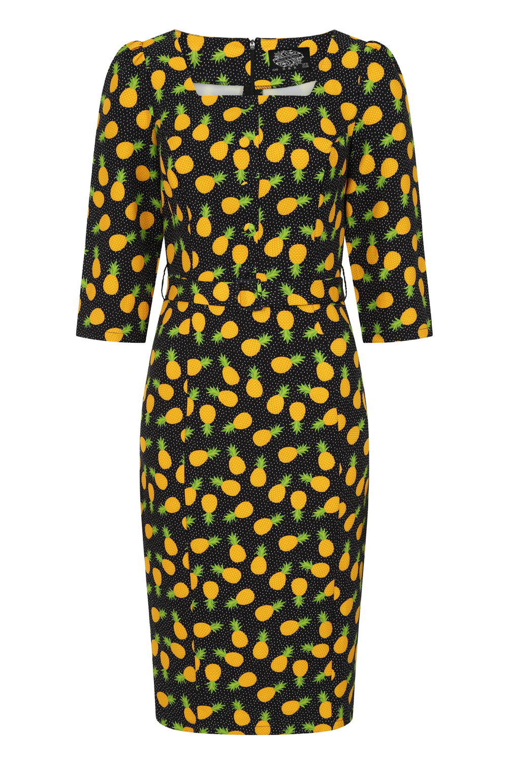 Alayna Tropical Wiggle Dress