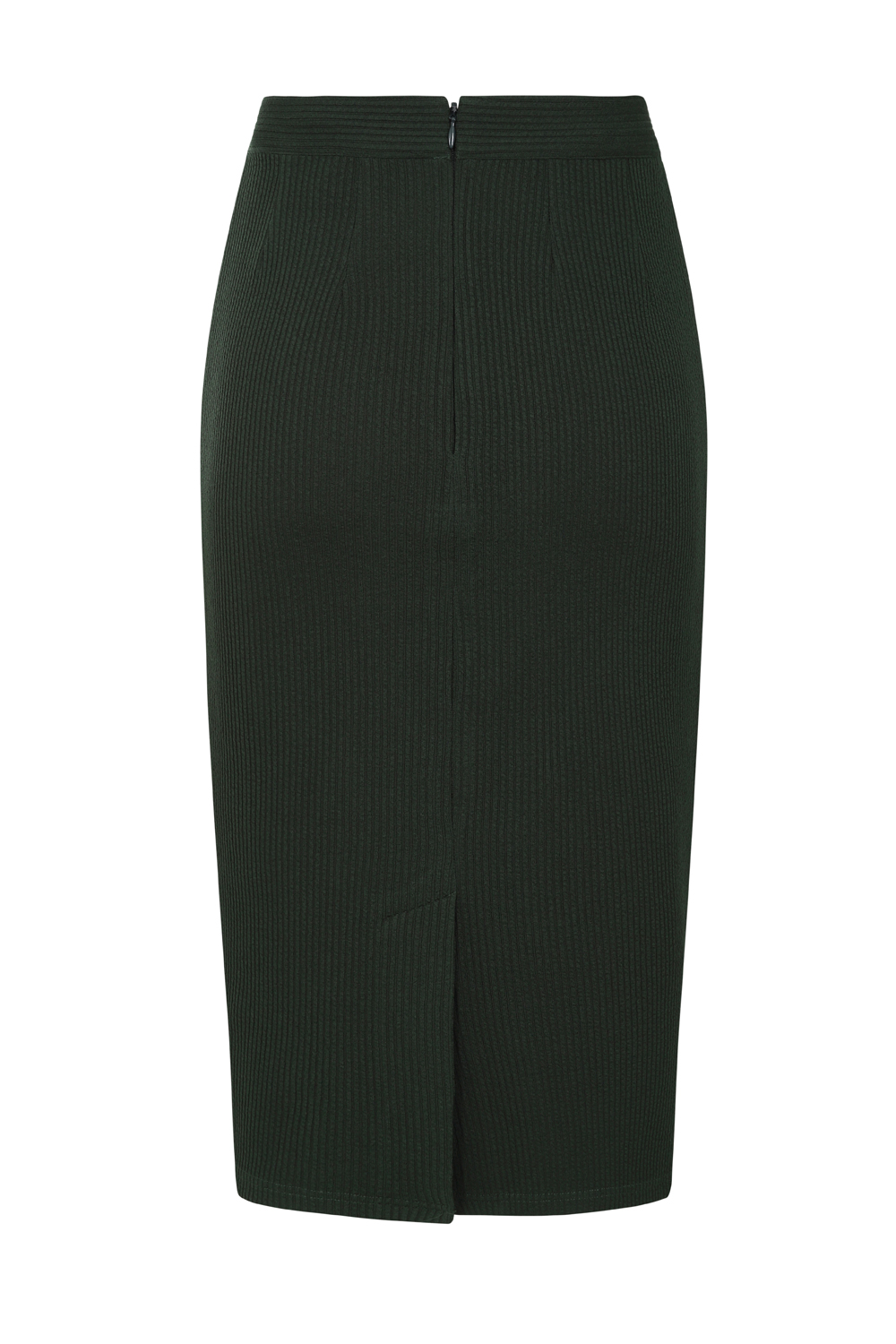 Sally Knitted Skirt in Green