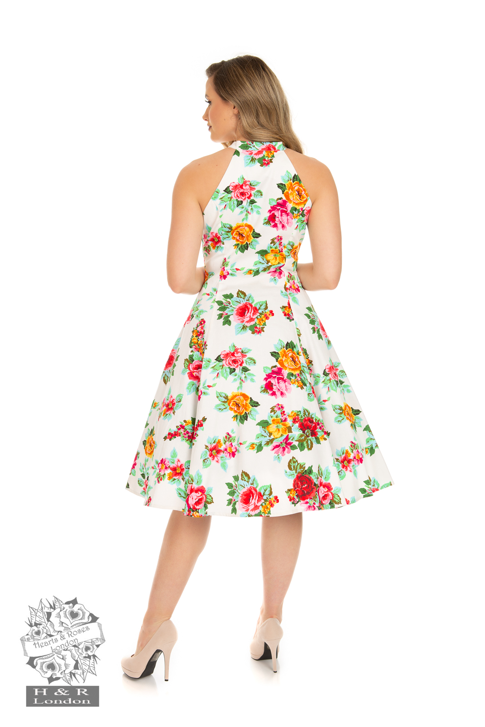 Fae Floral Swing Dress