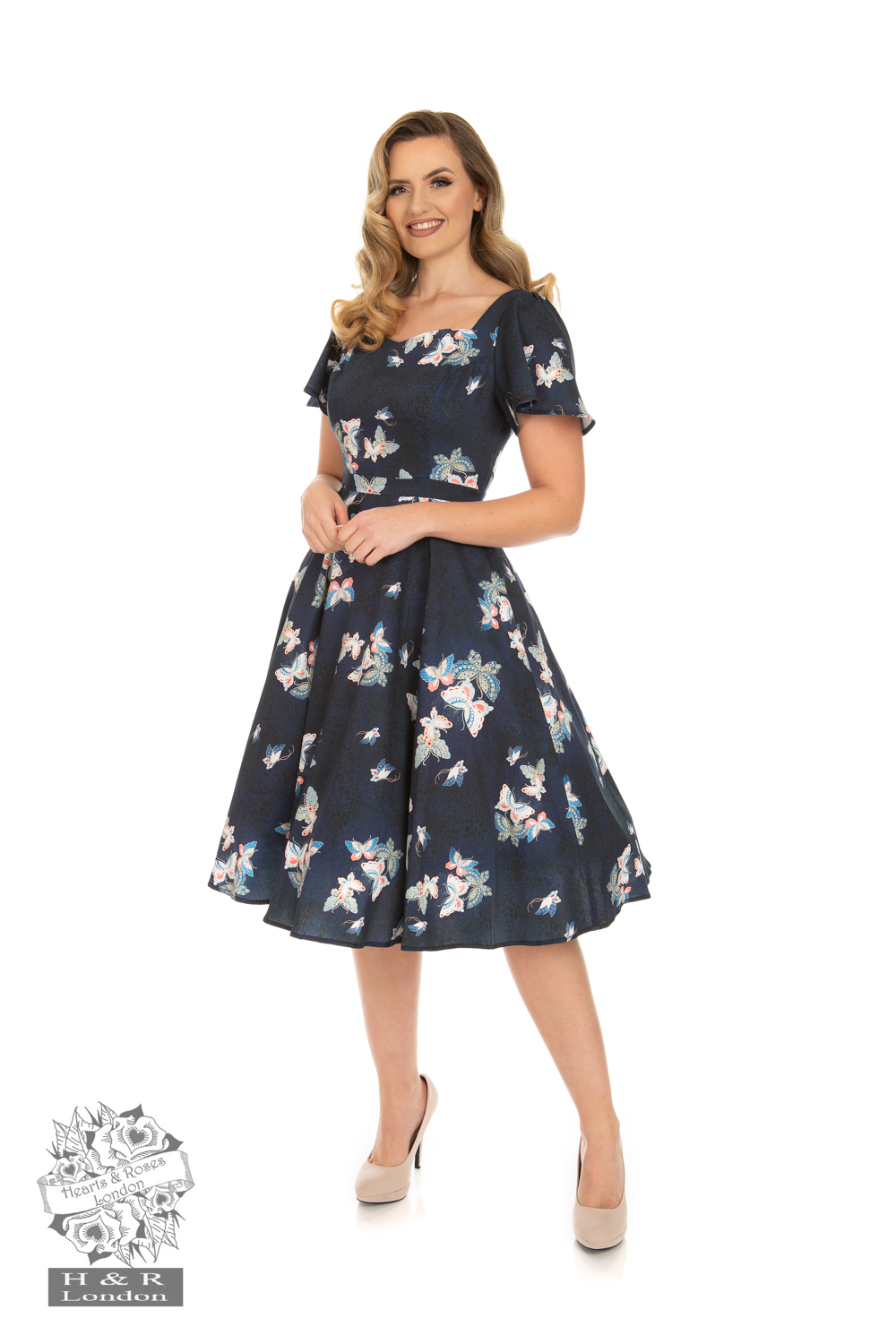 Butterfly Swing Dress