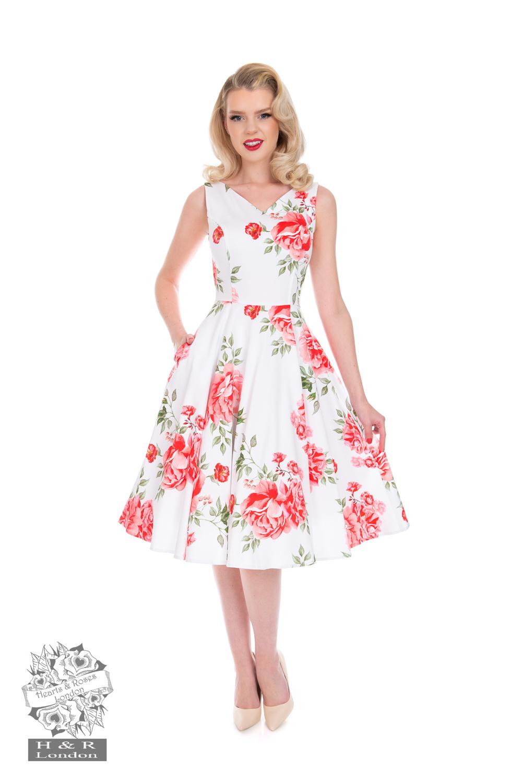 Nina Floral Swing Dress
