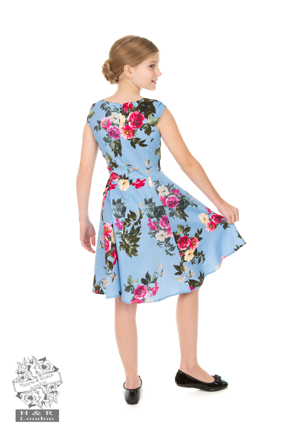 Girls Jolene Floral Swing Dress