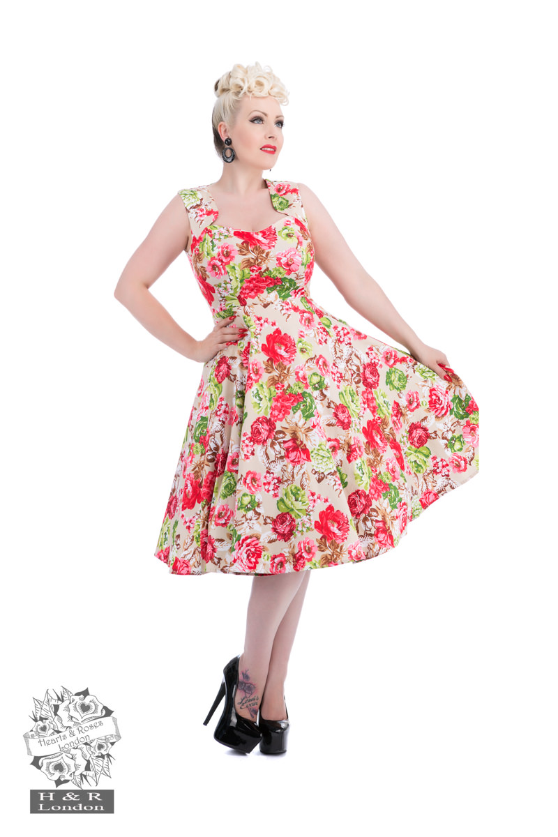 Zennor Floral Charlotte Dress