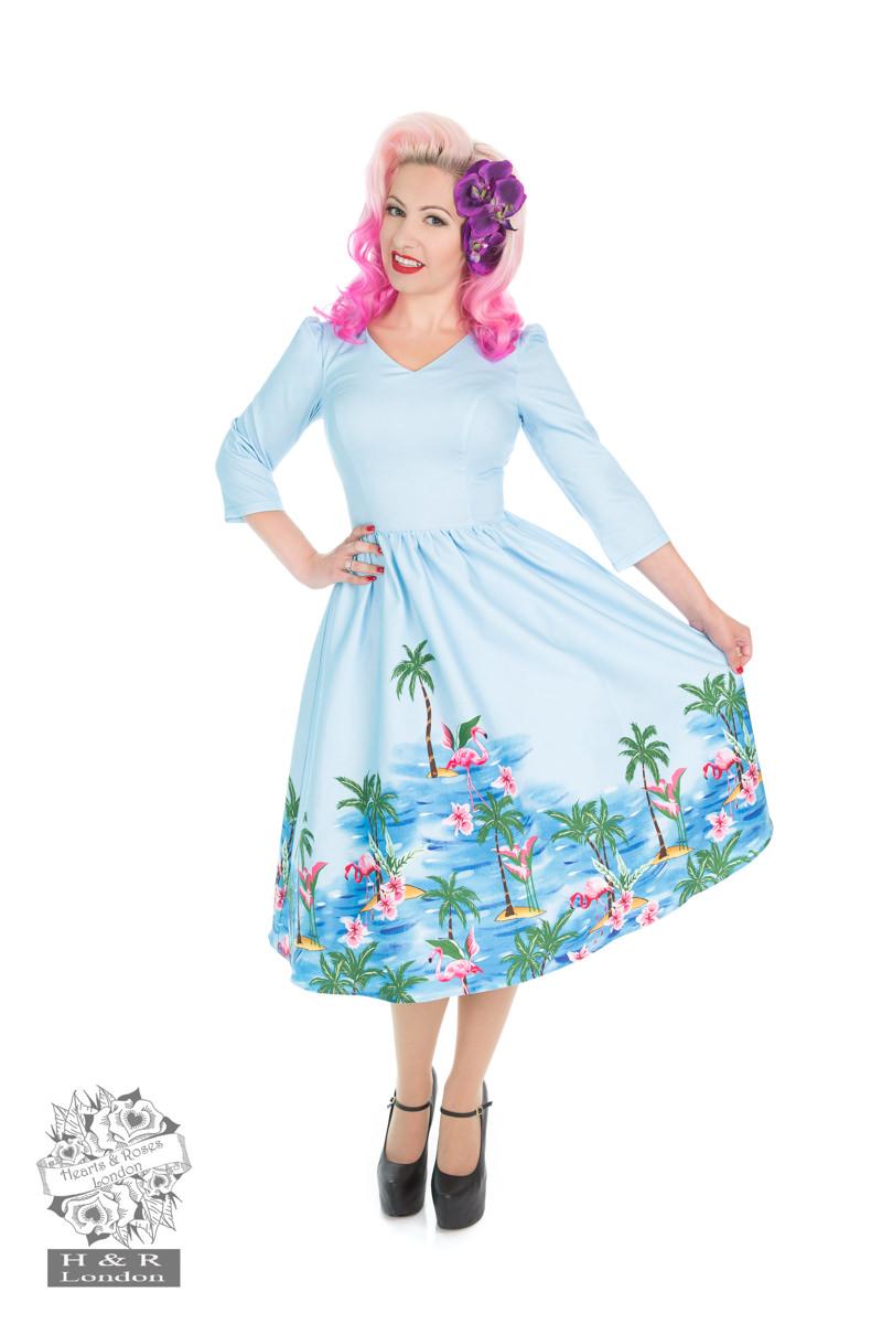 Playa Flamingo Dress
