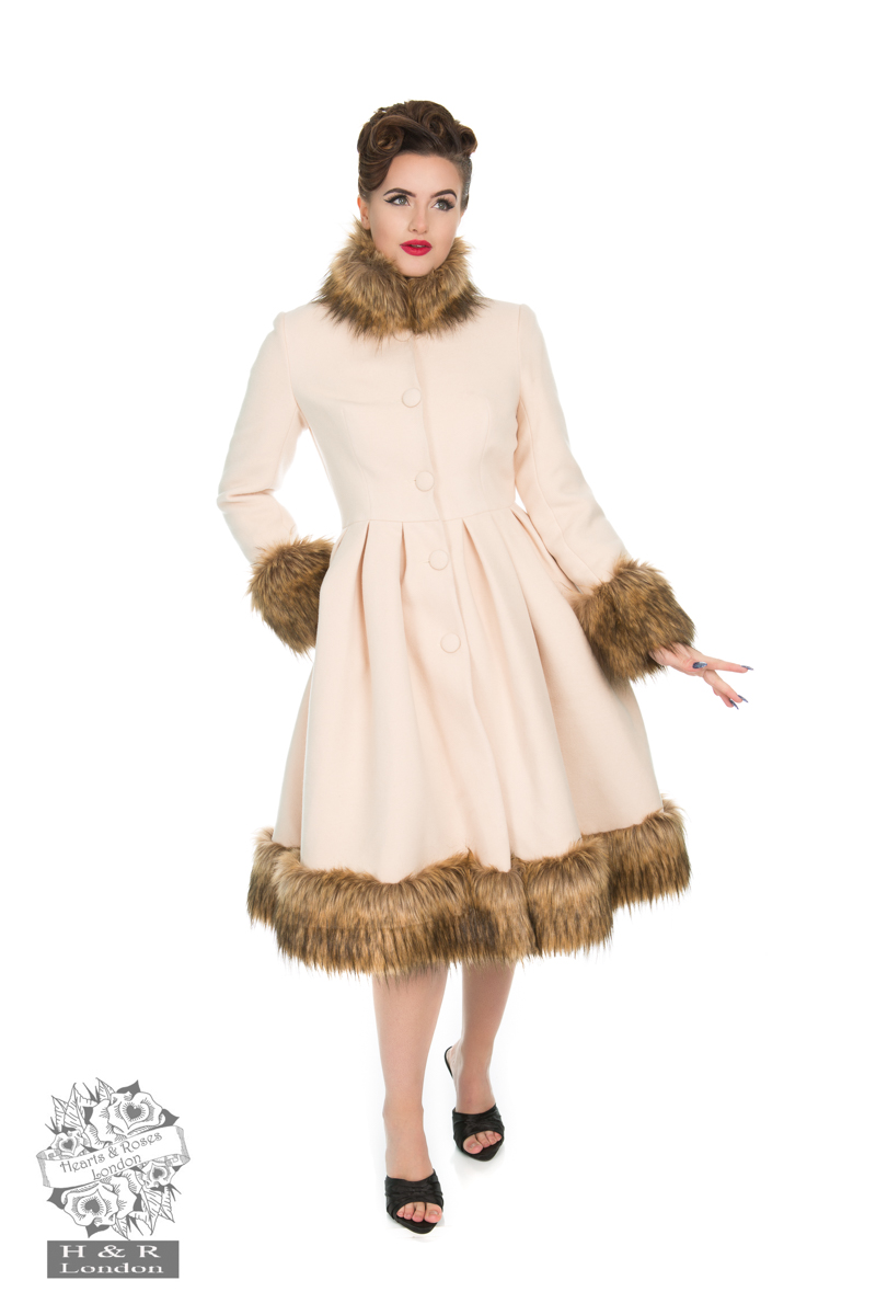 Elsie Coat in Beige