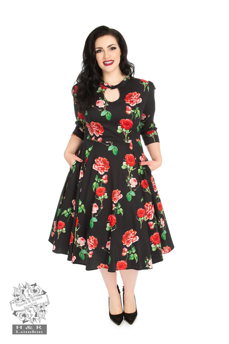 Plus Size Vintage Dresses | 50s Style Dresses Plus Size