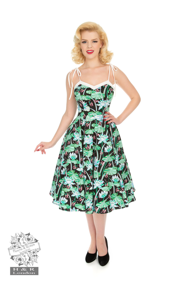 12f111d5dc15 Glorious Tropical Swing Dress