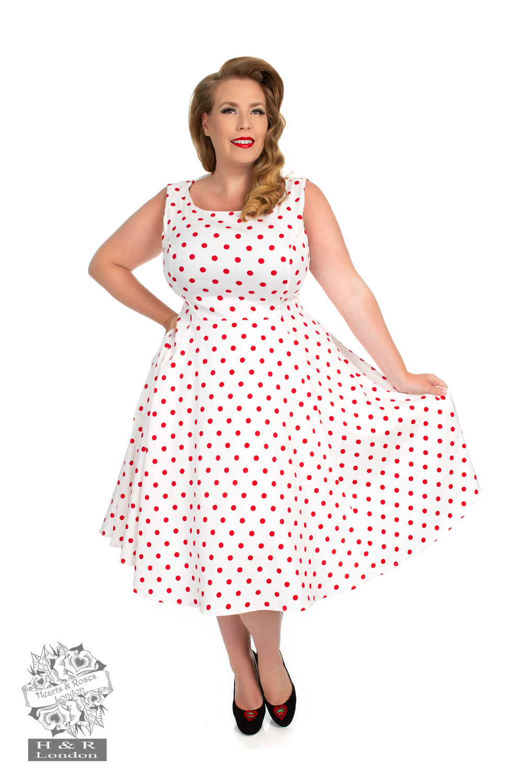 d3621e5d324e2 Plus Size Vintage Dresses | 50s Style Dresses Plus Size