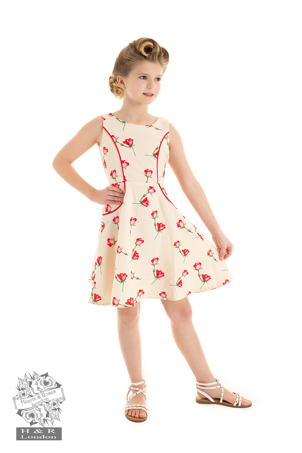 Girls Sorella Summer Swing Dress